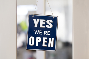 COVID-19 Yes We Are Open
